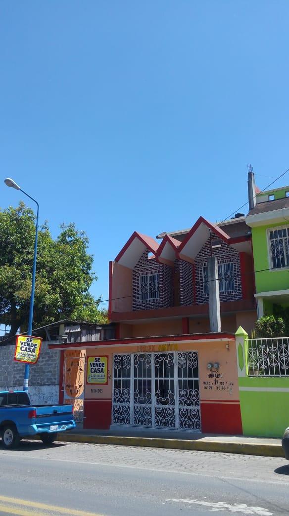 SE VENDE CASA CON LOCAL COMERCIAL EN TLATLAUQUITEPEC PUEBLA